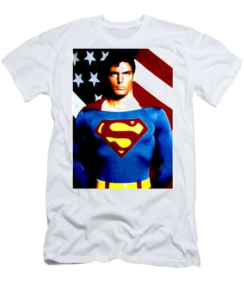 This Is Superman Men's T-Shirt (Slim Fit) by Saad Hasnain