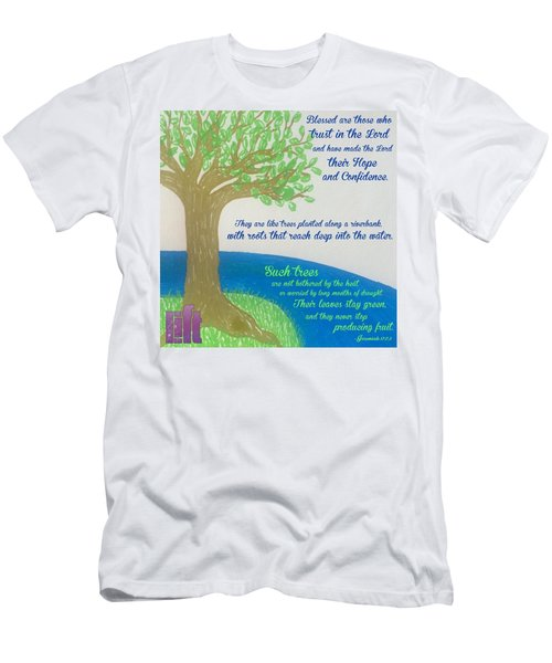 "This Is What The Lord Says: ""cursed Men's T-Shirt (Athletic Fit)"