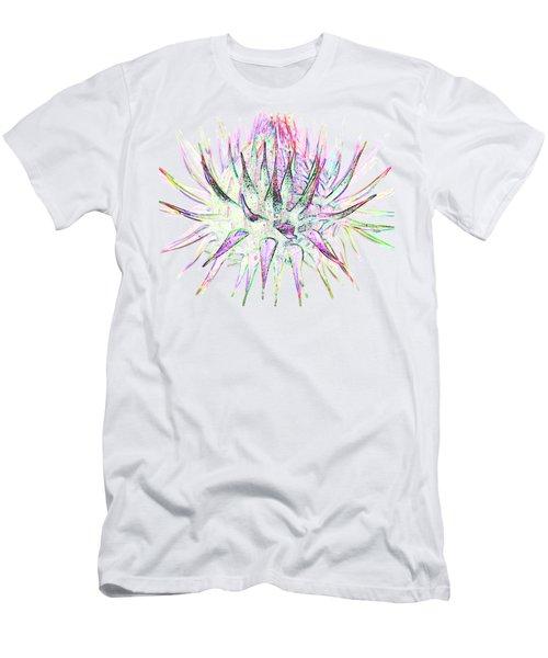 Thistlehead1 T-shirt Men's T-Shirt (Athletic Fit)