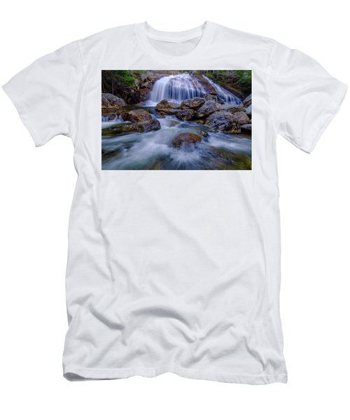 Thompson Falls, Pinkham Notch, Nh Men's T-Shirt (Athletic Fit)