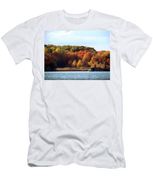 Thousand Island Color Men's T-Shirt (Athletic Fit)