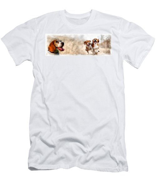 Three Amigos Men's T-Shirt (Athletic Fit)
