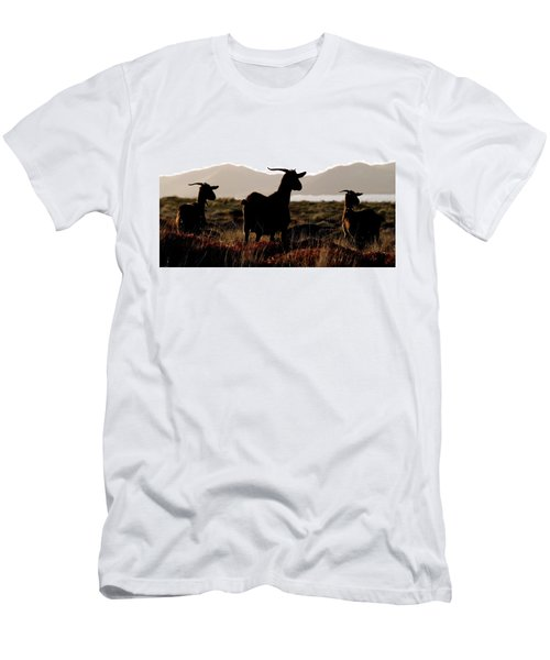 Three Goats Men's T-Shirt (Athletic Fit)