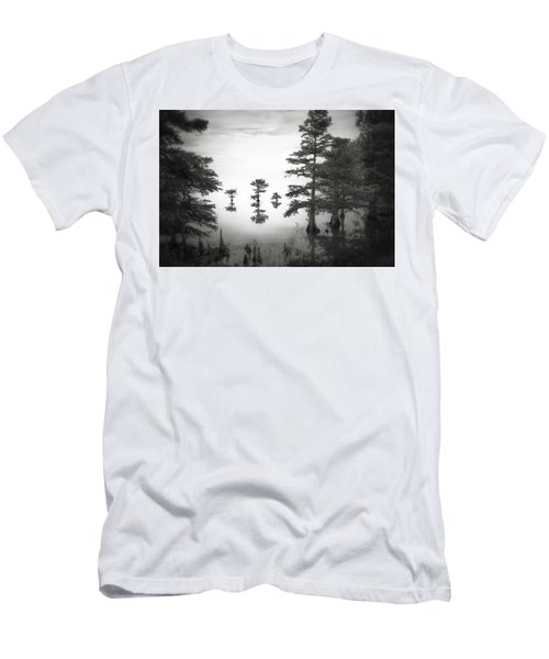 Men's T-Shirt (Slim Fit) featuring the photograph Three Little Brothers by Eduard Moldoveanu