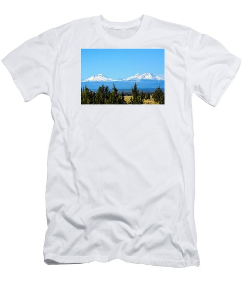 Three Sisters In The Fall Men's T-Shirt (Athletic Fit)