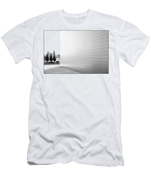 Three Trees And A Wall Men's T-Shirt (Athletic Fit)