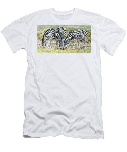 Three's Company Men's T-Shirt (Athletic Fit)