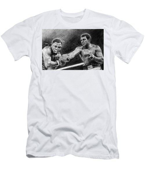 Thrilla In Manilla Pencil Drawing Men's T-Shirt (Athletic Fit)