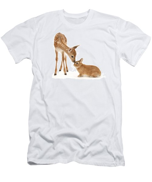 Thumper And Bambi Men's T-Shirt (Athletic Fit)