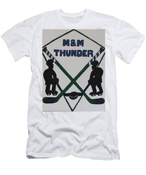 Thunder Hockey Men's T-Shirt (Athletic Fit)