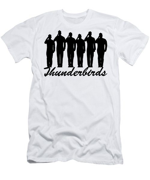 Thunderbirds Pilots Men's T-Shirt (Athletic Fit)