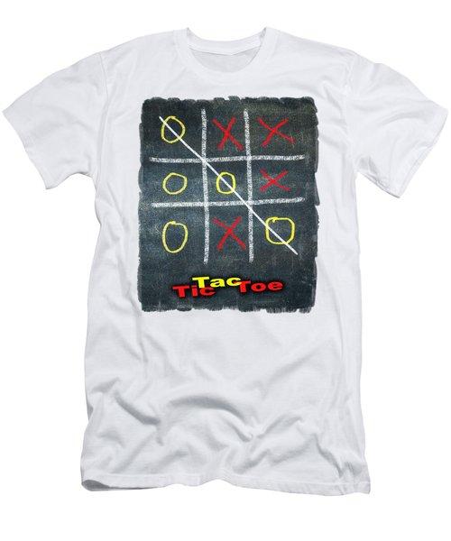 Tic Tac Toe Men's T-Shirt (Athletic Fit)