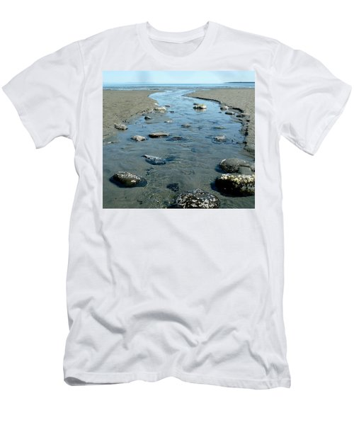 Men's T-Shirt (Athletic Fit) featuring the photograph Tidal Pools by 'REA' Gallery