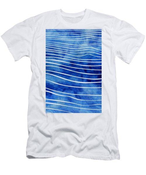 Tide Xi Men's T-Shirt (Athletic Fit)