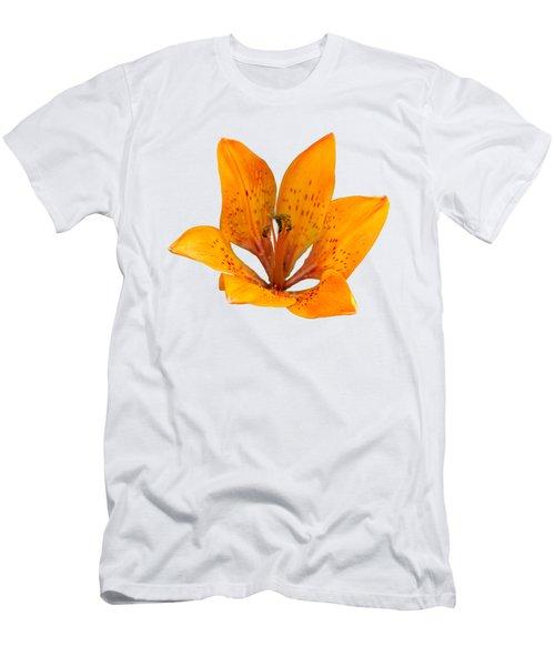 Tiger Lily 1 Trasparent Men's T-Shirt (Athletic Fit)