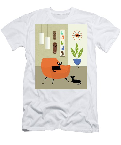 Tikis On The Wall Men's T-Shirt (Athletic Fit)