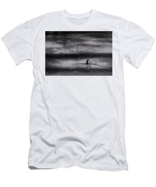 Men's T-Shirt (Slim Fit) featuring the photograph Til Spring by Mark Fuller