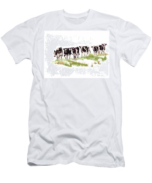 Till The Cows... Men's T-Shirt (Athletic Fit)