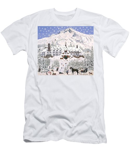 Timberline Lodge Men's T-Shirt (Athletic Fit)