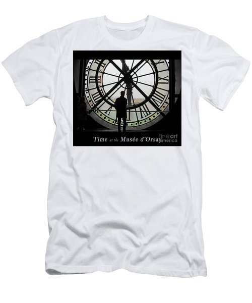 Time At The Musee D'orsay Men's T-Shirt (Athletic Fit)