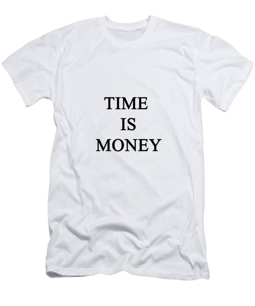 Time Is Money Men's T-Shirt (Athletic Fit)