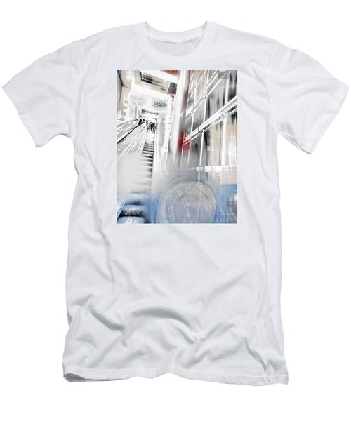 Time To Step It Up Men's T-Shirt (Slim Fit) by Susan Stone