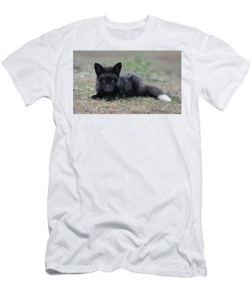 Men's T-Shirt (Slim Fit) featuring the photograph Here's Looking At You by Elvira Butler