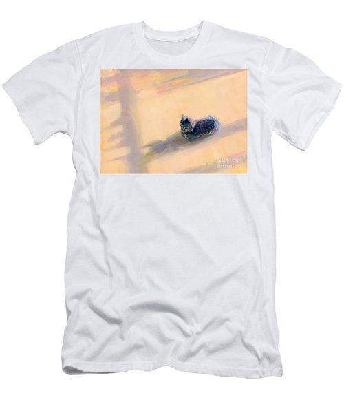 Tiny Kitten Big Dreams Men's T-Shirt (Athletic Fit)