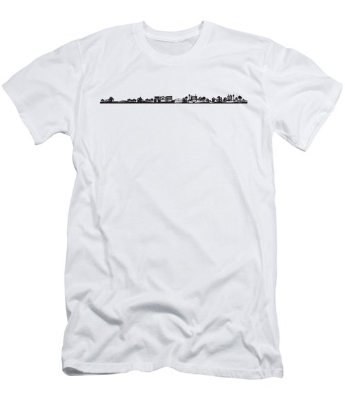 Tinytown Strip Men's T-Shirt (Athletic Fit)
