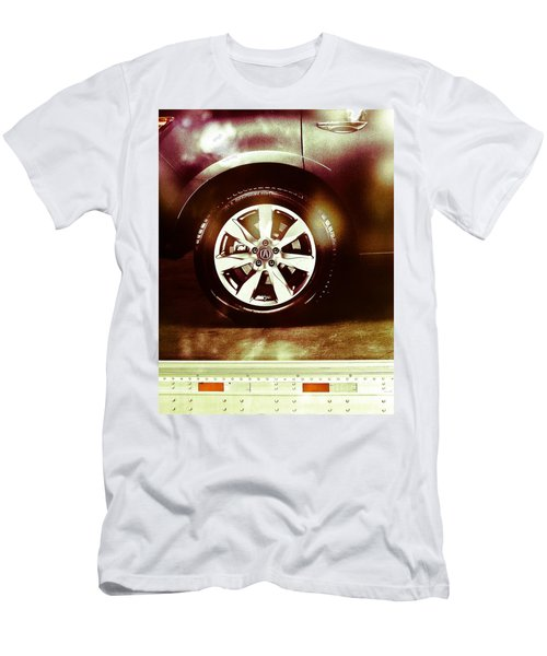 Tire Under The Moonlight Color Men's T-Shirt (Athletic Fit)
