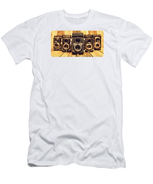 Men's T-Shirt (Slim Fit) featuring the photograph Tlr Group by Keith Hawley