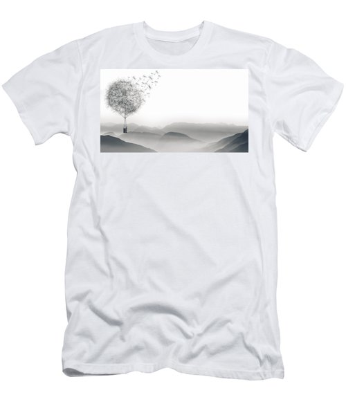 To Fly Only For A Moment Men's T-Shirt (Athletic Fit)