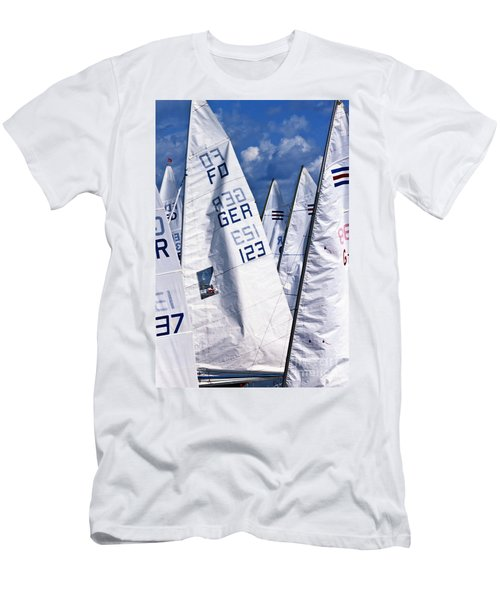 To Sea - To Sea  Men's T-Shirt (Athletic Fit)