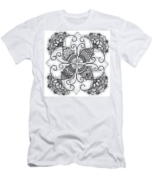 Together We Flourish - Ink Men's T-Shirt (Athletic Fit)