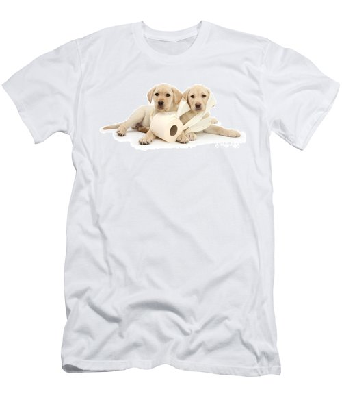 Toilet Humour Men's T-Shirt (Athletic Fit)