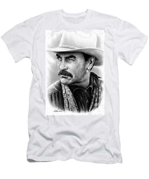 Tom Selleck As Monty Walsh Men's T-Shirt (Athletic Fit)