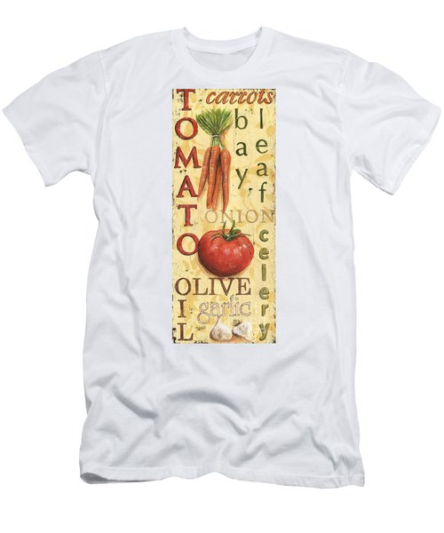 Tomato Soup Men's T-Shirt (Athletic Fit)