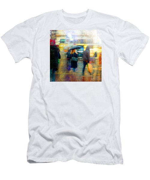 Men's T-Shirt (Athletic Fit) featuring the photograph Too Warm To Snow by LemonArt Photography