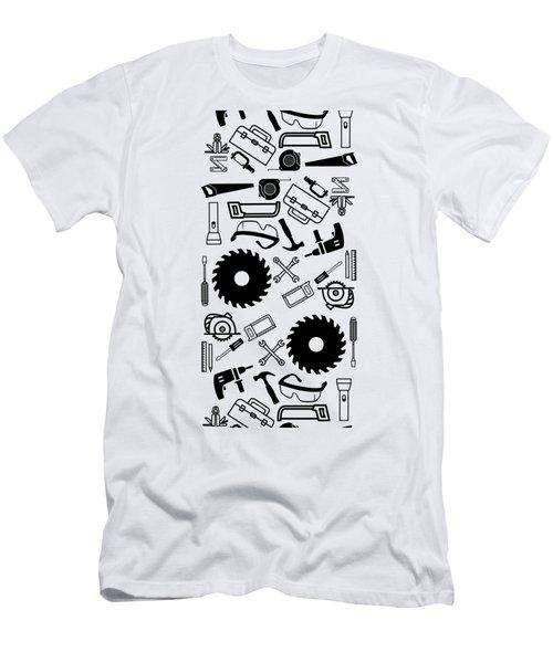 Tool Belt 1 Phone Case Men's T-Shirt (Athletic Fit)