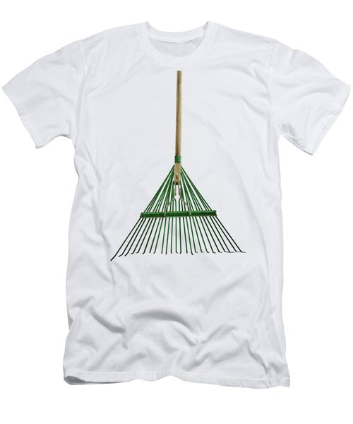 Tools On Wood 10 On Bw Men's T-Shirt (Slim Fit) by YoPedro