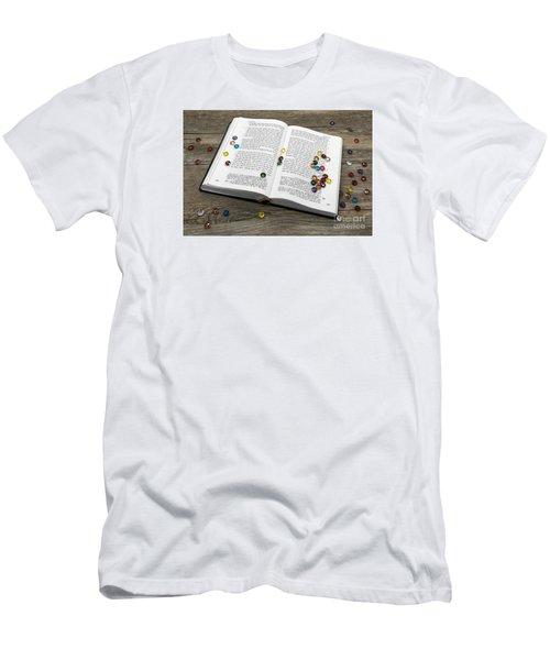 Torah Book Men's T-Shirt (Athletic Fit)