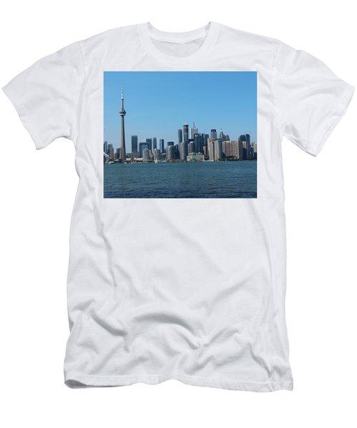 Toronto Cityscape Men's T-Shirt (Athletic Fit)