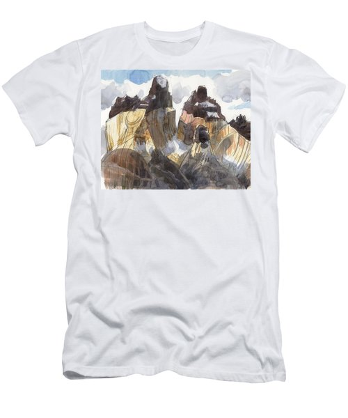 Torres Del Paine, Chile Men's T-Shirt (Athletic Fit)