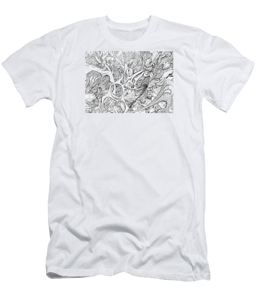 Tortuosity Men's T-Shirt (Slim Fit) by Charles Cater