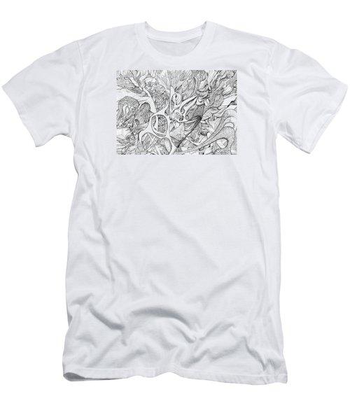 Tortuosity Men's T-Shirt (Athletic Fit)