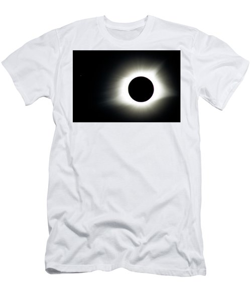Totality And Mercury Men's T-Shirt (Athletic Fit)