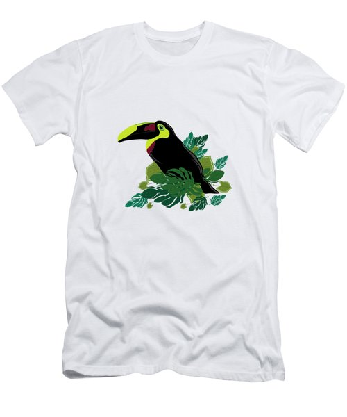 Toucan Men's T-Shirt (Slim Fit) by Vanessa GFG
