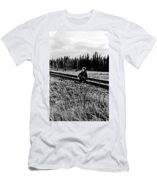 Men's T-Shirt (Slim Fit) featuring the photograph Tough Times by Tara Lynn