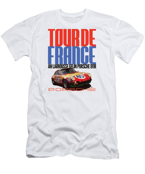Tour De France Porsche Men's T-Shirt (Athletic Fit)