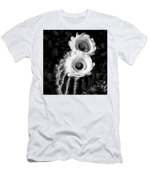 Tourch Cactus Bloom Men's T-Shirt (Athletic Fit)